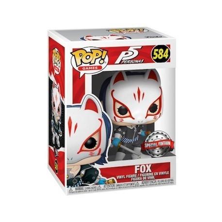 Figur Pop! Persona 5 Fox Limited Edition Funko Online Shop Switzerland