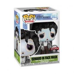 Figurine Pop! Edward Scissorhands avec Purple Face Mask Edition Limitée Funko Boutique en Ligne Suisse