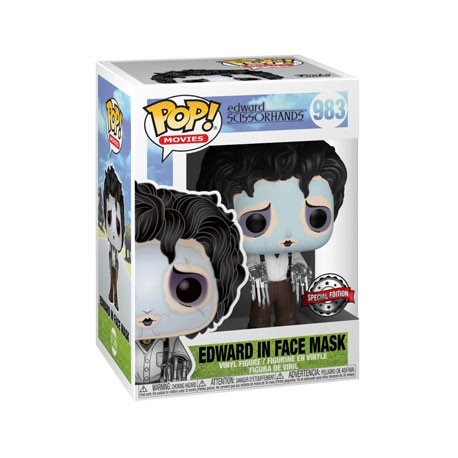 Figur Pop! Edward Scissorhands with Purple Face Mask Limited Edition Funko Online Shop Switzerland