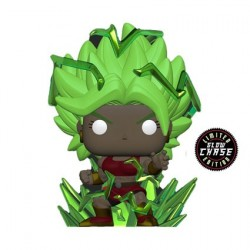 Pop! Glow in the Dark Dragon Ball Super Super Saiyan Kale with Energy Base Chase Limited Edition