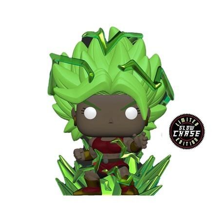 Figur Pop! Glow in the Dark Dragon Ball Super Super Saiyan Kale with Energy Base Chase Limited Edition Funko Online Shop Swit...