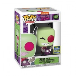 Figuren Pop! SDCC 2020 Invader Zim with Minimoose Limitierte Auflage Funko Online Shop Schweiz