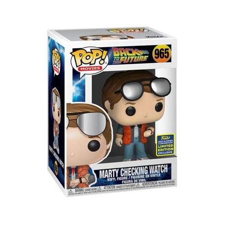 Figur Pop! SDCC 2020 TV Marty McFly Checking Watch Limited Edition Funko Online Shop Switzerland