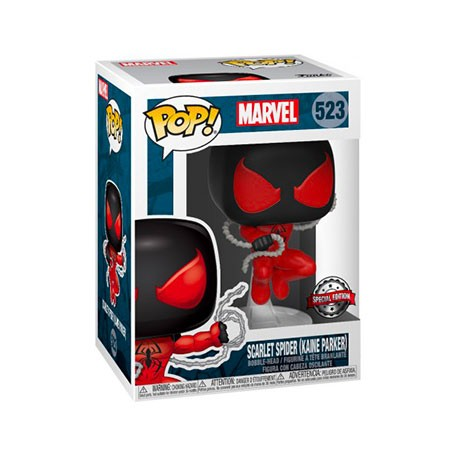Figur Pop! Marvel Spider-Man Scarlet Limited Edition Funko Online Shop Switzerland