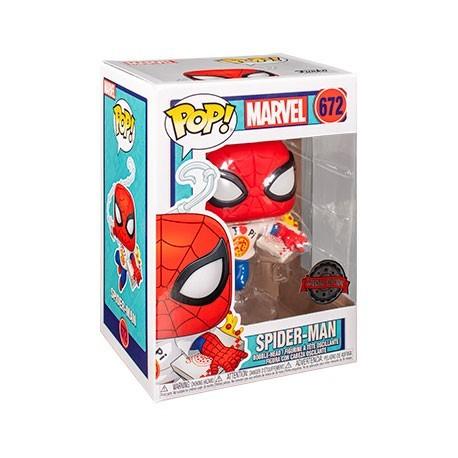Figur Pop! Marvel Spider-Man with Pizza Limited Edition Funko Online Shop Switzerland