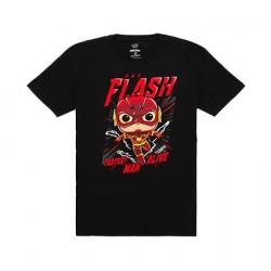 Figurine T-Shirt Dc Comics The Flash Funko Boutique en Ligne Suisse
