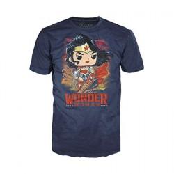 Figurine T-Shirt DC Comics Wonder Woman Funko Boutique en Ligne Suisse