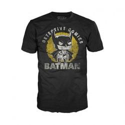 Figurine T-Shirt DC Comics Batman Sun Faded Funko Boutique en Ligne Suisse