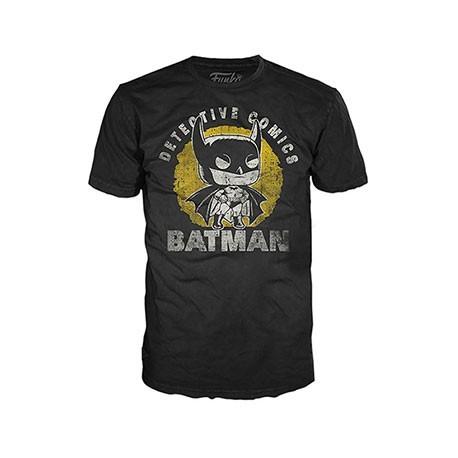Figur T-Shirt DC Comics Batman Sun Faded Funko Online Shop Switzerland