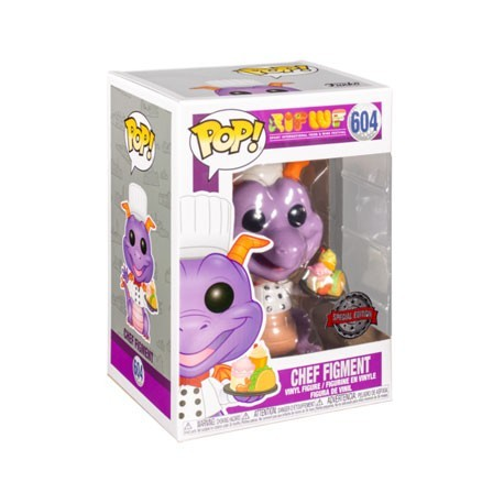 Pop! Disney Parks Chef Figment Limited Edition