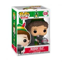 Figurine Pop! Elf Buddy avec Raccoon Edition Limitée Funko Boutique en Ligne Suisse