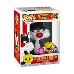 Figurine Pop! Floqué Looney Tunes Titi et Grosminet Edition Limitée Funko Boutique en Ligne Suisse