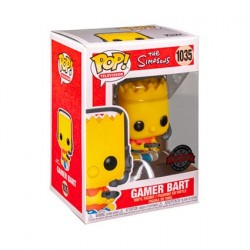 Figur Pop! The Simpsons Gamer Bart Limited Edition Funko Online Shop Switzerland