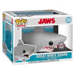 Figurine Pop! 15 cm Les Dents de la Mer Le Grand Requin Blanc Edition Limitée Funko Boutique en Ligne Suisse