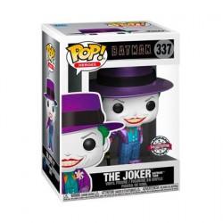 Figurine Pop! Métallique Batman 1989 Joker avec Chapeau Edition Limitée Funko Boutique en Ligne Suisse