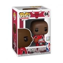 Figurine Pop! NBA Bulls Michael Jordan Red Warm-Ups Edition Limitée Funko Boutique en Ligne Suisse