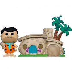 Figurine Pop! The Flintstones Fred Flintstone avec la Maison des Flintstone Funko Boutique en Ligne Suisse