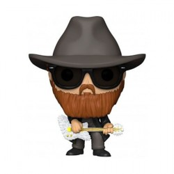 Figur Pop! Flocked ZZ Top Billy Gibbons Funko Online Shop Switzerland