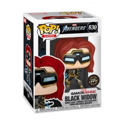Figurine Pop! Phosphorescent Marvel's Avengers (2020) Black Widow Chase Edition Limitée Funko Boutique en Ligne Suisse