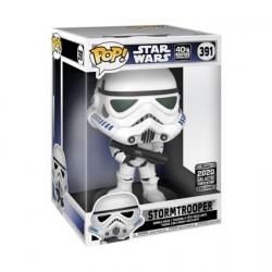 Figurine BOITE ENDOMMAGE Pop! 25 cm Star Wars Galactic 2020 Stormtrooper Edition Limitée Funko Boutique en Ligne Suisse