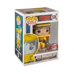 Figurine Pop! TV Stranger Things Joyce in Bio Hazard Suit Edition Limitée Funko Boutique en Ligne Suisse