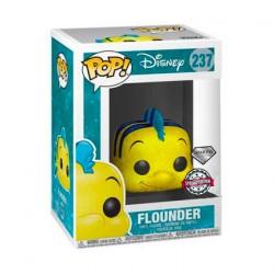 Figurine Pop! Disney La Petite Sirène Flounder Diamond Glitter Edition Limitée Funko Boutique en Ligne Suisse