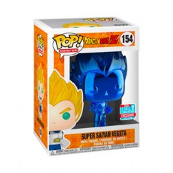 Figur Pop! NYCC 2018 Dragonball Z Vegeta Blue Chrome Limited Edition Funko Online Shop Switzerland