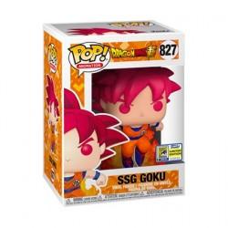 Figurine Pop! SDCC 2020 Animation DBZ Super Saiyan God Goku Edition Limitée Funko Boutique en Ligne Suisse