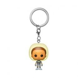 Figurine Pop! Pocket Porte clés Rick et Morty Space Suit Morty Funko Boutique en Ligne Suisse