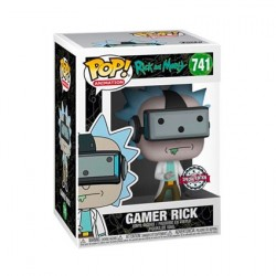 Figur Pop! Rick and Morty Gamer Rick Limited Edition Funko Online Shop Switzerland