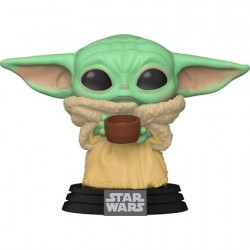 Figur Pop! Star Wars The Mandalorian The Child with Cup (Baby Yoda) Funko Online Shop Switzerland