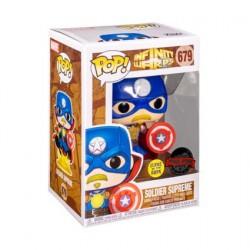 Figurine Pop! Phosphorescent Infinity Warps Soldier Supreme Edition Limitée Funko Boutique en Ligne Suisse