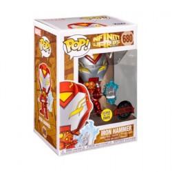 Figurine Pop! Méttalique Phosphorescent Infinity Warps Iron Hammer Edition Limitée Funko Boutique en Ligne Suisse