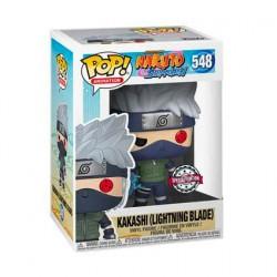 Figurine Pop! Naruto Shipuden Kakashi avec Lame de Foudre Edition Limitée Funko Boutique en Ligne Suisse