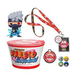 Figurine Pop! Naruto Shippuden Kakashi & Noodles Exclusive Collector Box Edition Limitée Funko Boutique en Ligne Suisse