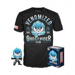 Figurine Pop! et T-shirt Venomized Ghost Rider Edition Limitée Funko Boutique en Ligne Suisse