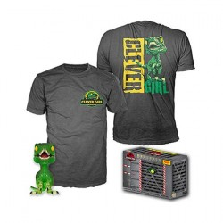 Figur Pop! and T-shirt Jurassic Park Clever Raptor Limited Edition Funko Online Shop Switzerland