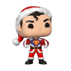 Figurine Pop! DC Comics Holiday Superman en Holiday Sweater Funko Boutique en Ligne Suisse