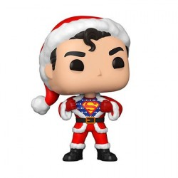 Figuren Pop! DC Comics Holiday Superman mit Holiday Sweater Funko Online Shop Schweiz