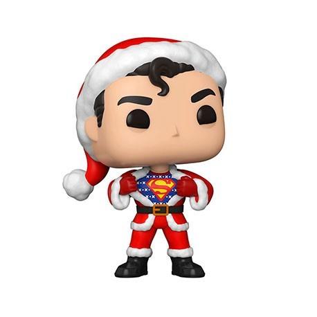 Figur Pop! DC Comics Holiday Superman in Holiday Sweater Funko Online Shop Switzerland