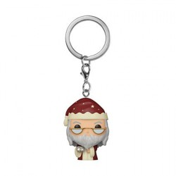 Figurine Pop! Pocket Porte clés Harry Potter Holiday Albus Dumbledore Funko Boutique en Ligne Suisse