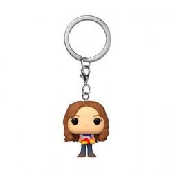 Figurine Pop! Pocket Porte clés Harry Potter Holiday Hermione Granger Funko Boutique en Ligne Suisse