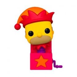 Figurine Pop! The Simpsons Jack-in-the-Box Homer Funko Boutique en Ligne Suisse