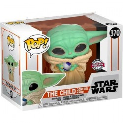 Figur Pop! Star Wars Mandalorian The Child (Baby Yoda) with Control Knob Limited Edition Funko Online Shop Switzerland