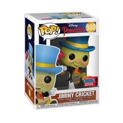 Figurine Pop! NYCC 2020 Disney Pinocchio Jiminy Cricket Edition Limitée Funko Boutique en Ligne Suisse