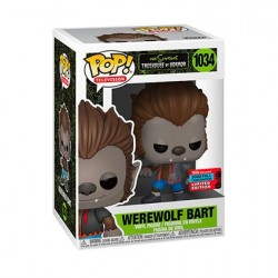 Figur Pop! NYCC 2020 The Simpsons Bart Werewolf Limited Edition Funko Online Shop Switzerland