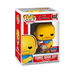 Figur Pop! NYCC 2020 The Simpsons Comic Book Guy Limited Edition Funko Online Shop Switzerland