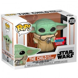 Figur Pop! NYCC 2020 Star Wars The Mandalorian The Child with Pendant (Baby Yoda) Limited Edition Funko Online Shop Switzerland