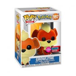 Figur Pop! NYCC 2020 Flocked Pokemon Growlithe Limited Edition Funko Online Shop Switzerland