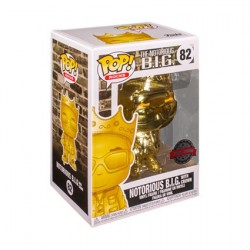 Figur Pop! Notorious BIG Biggie Gold Chrome Limited Edition Funko Online Shop Switzerland